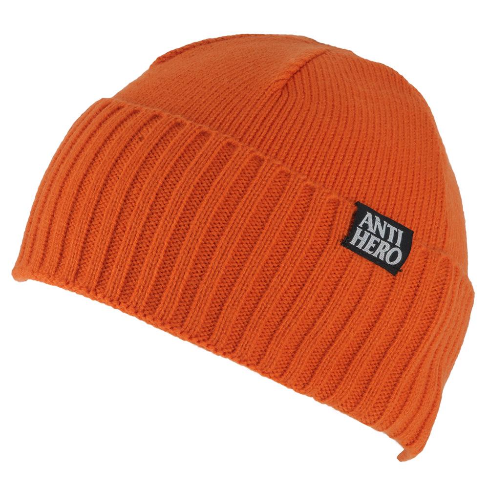 Anti Hero Washout Orange Beanie - Skate Pharm 0ea9600f7be
