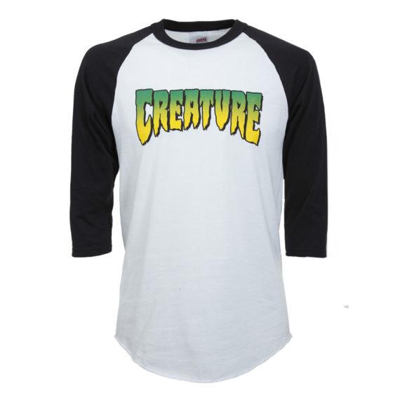 Creature Raglan Logo Shirt