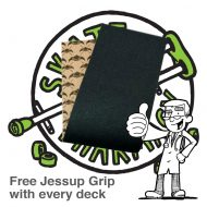 Free Jessups Grip Tape at Skate Pharm With Every Deck