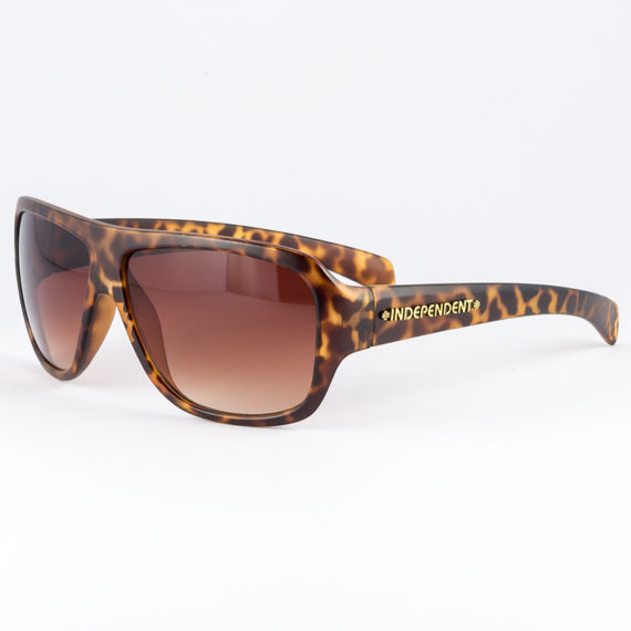 Independent Regrets Brown Tortoise Shell Sunglasses