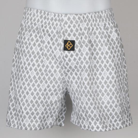 Krooked Skateboards Diamond Print Boxer Shorts