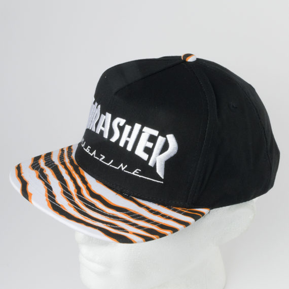 THRASHER Magazine Tiger Stripe Snapback Cap