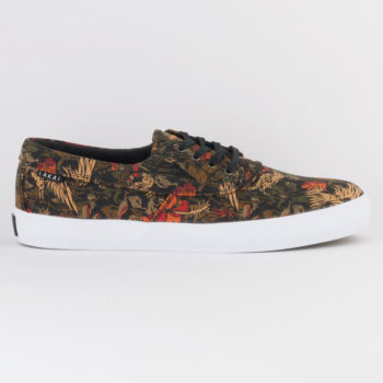Lakai Footwear Echelon Camby Skate Shoes Swanski Black Orange