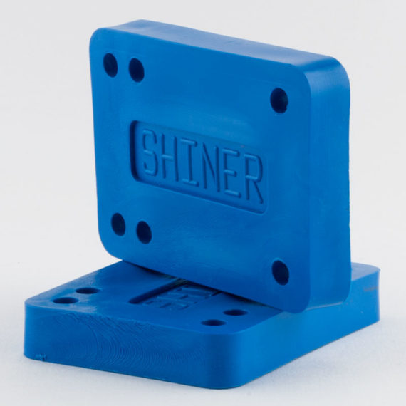 Shiner Cheese Blocks Risers Blue 1/2""