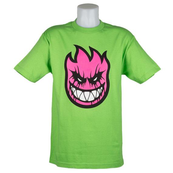 Spitfire_Tee-BrightGreen-PinkFlamehead