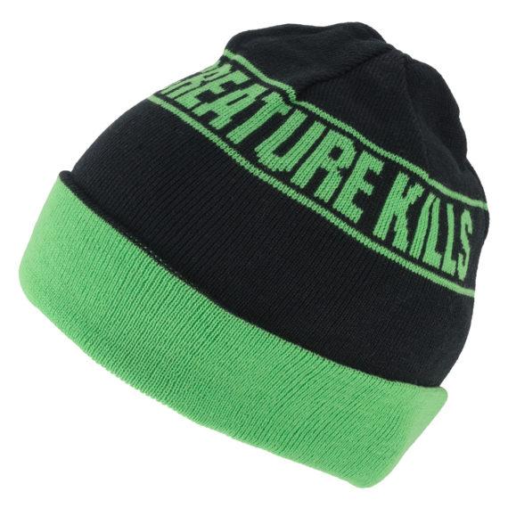 Creature_Beanie-Kills-Reversible-Green-Black-1