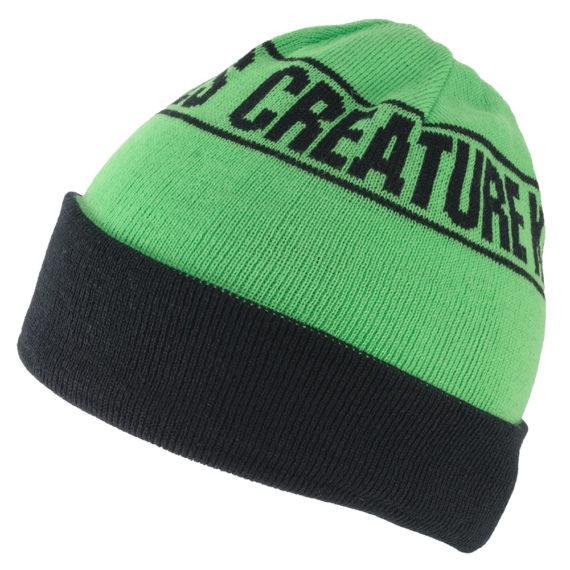 Creature_Beanie-Kills-Reversible-Green-Black-2