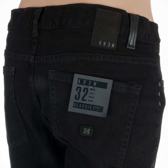 Krew Jeans Klassic Black Denim