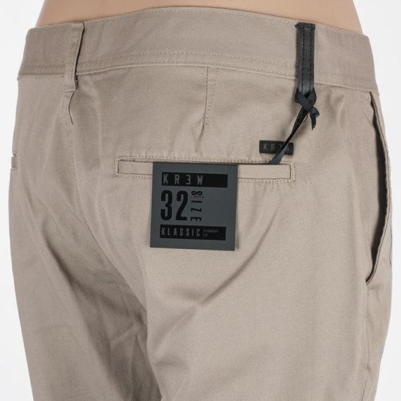 Krew Jeans Klassic Chino Dark Khaki