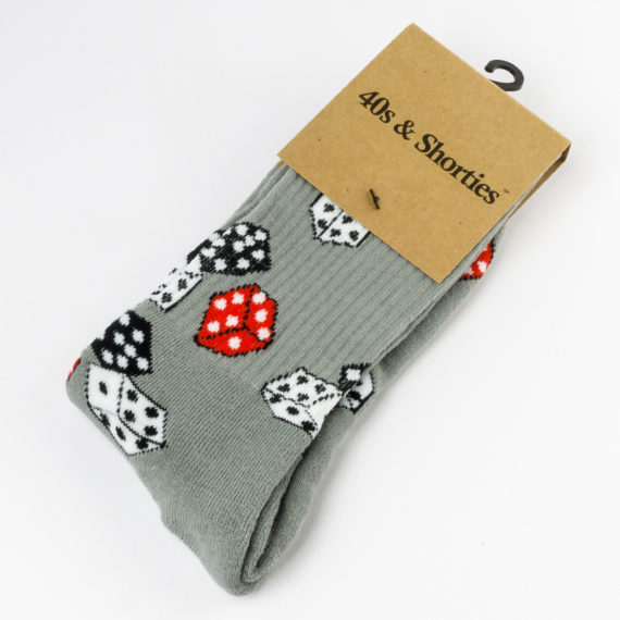 40's And Shorties Socks Cee-Lo Grey 1