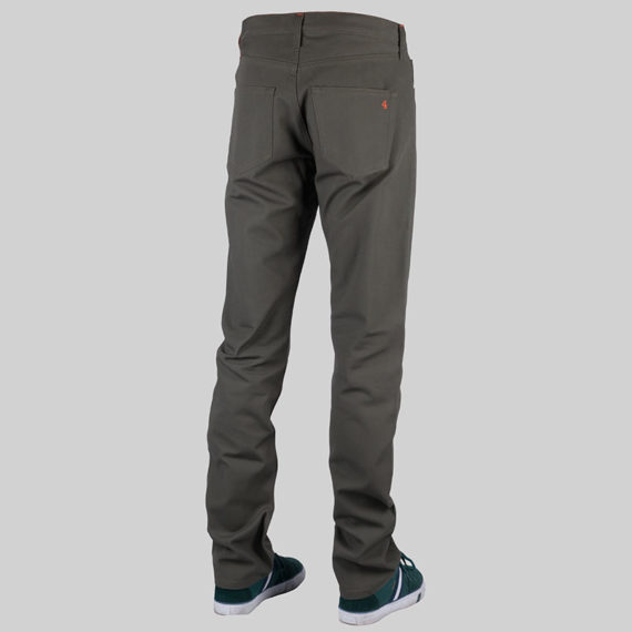 SALE 4Q Conditioning Clothing Heavy Duty 5 Pocket Jeans Raw Olive 2