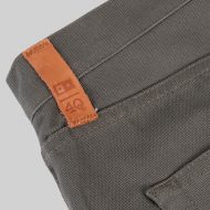 SALE 4Q Conditioning Clothing Heavy Duty 5 Pocket Jeans Raw Olive 3
