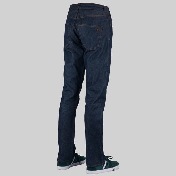 SALE 4Q Conditioning Clothing Heavy Duty 5 Pocket Jeans Raw Indigo 2
