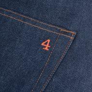 SALE 4Q Conditioning Clothing Heavy Duty 5 Pocket Jeans Raw Indigo 4