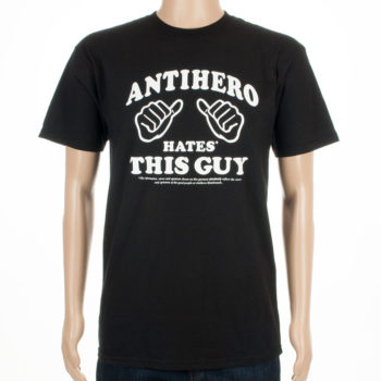 Anti Hero Skateboards T-Shirt This Guy Black