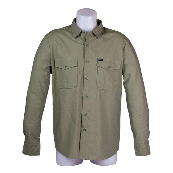 Brixton Davis Shirt Sage