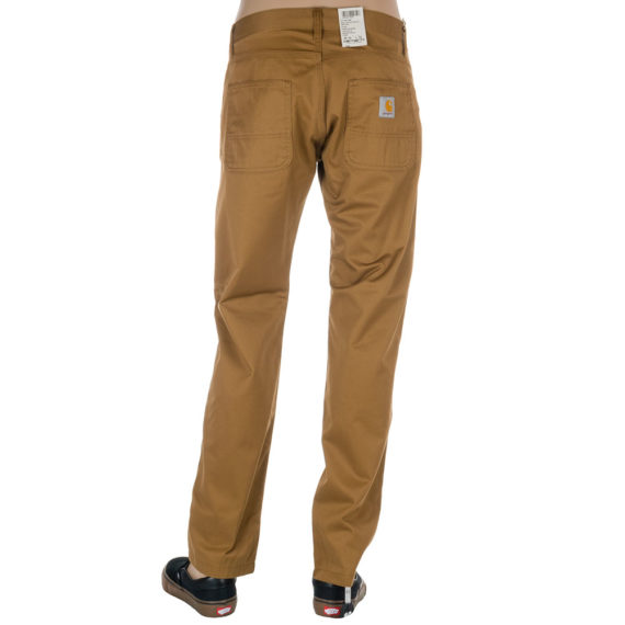 Carhartt WIP Clothing Skill Work Pants Hamilton Brown