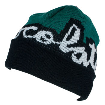Chocolate Beanie Mega Chunk Fold Black Green