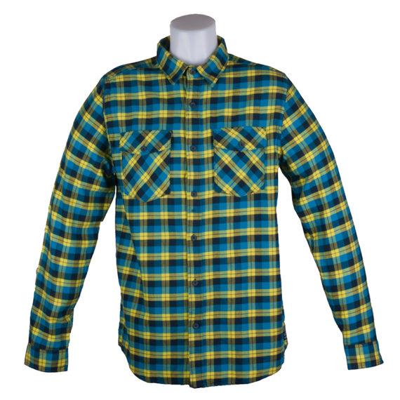 DC Chozen Longsleeve Shirt Neon Yellow Blue