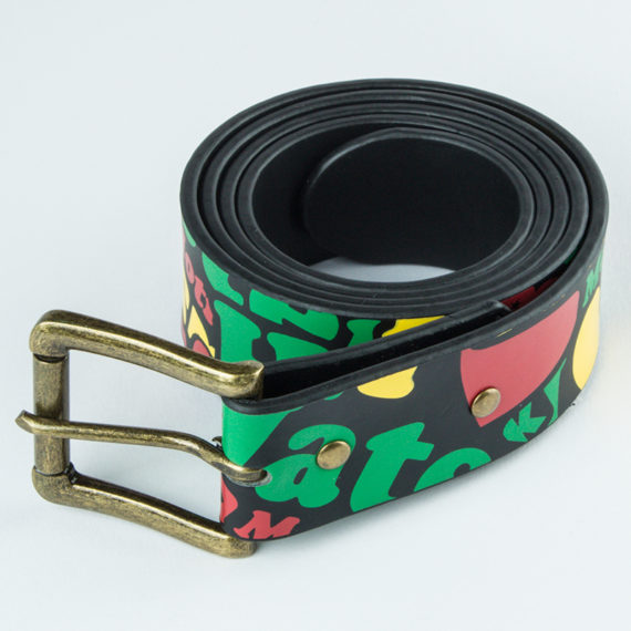 DGK Skateboards Belt I Love Haters Rasta