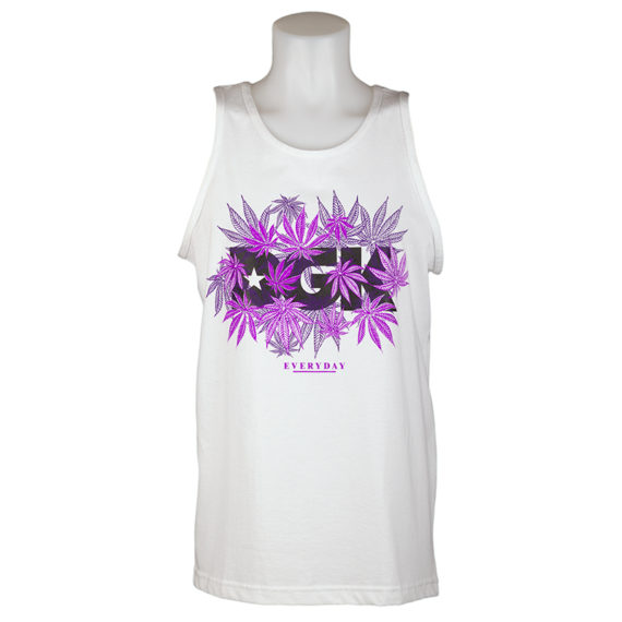 DGK Skateboards Vest Homegrown White