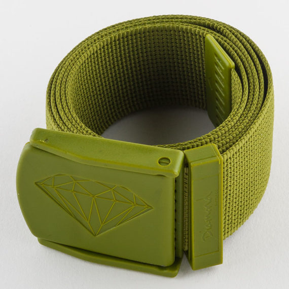 Diamond Supply Co Belt Military Scout Army Green