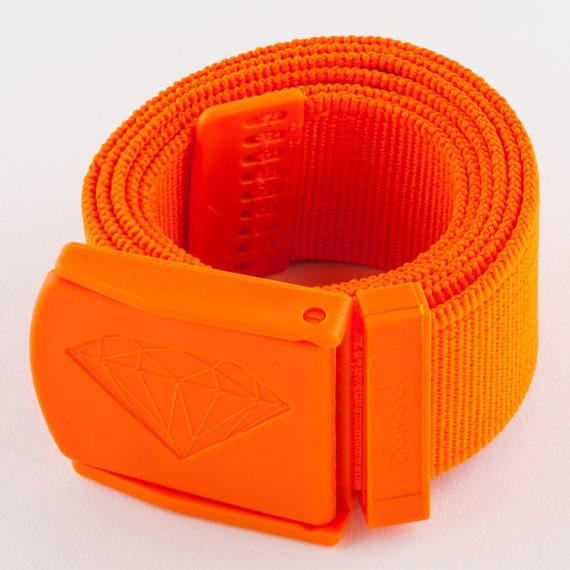 Diamond Supply Co Belt Military Scout Orange