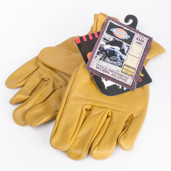 Dickies Clothing Gloves Unlined Leather Glove Tan 1