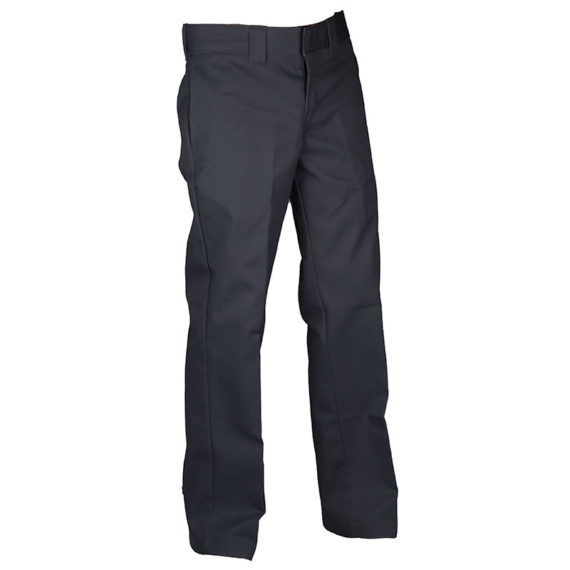 Dickies Slim Straight Leg Work Pant Charcoal Grey 1