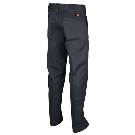 Dickies Slim Straight Leg Work Pant Charcoal Grey 2