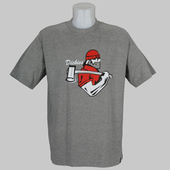 buy dickies clothing t shirt bellevue grey melange at
