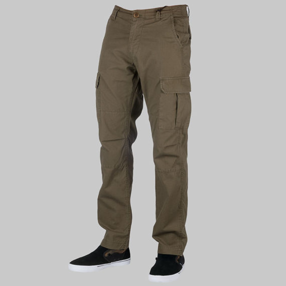 Dickies Clothing Cargo Pants Oklahoma Olive Green 1