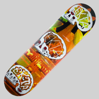 Ekta Skateboards Deck Magic Skulls Red Eyes 8.5""