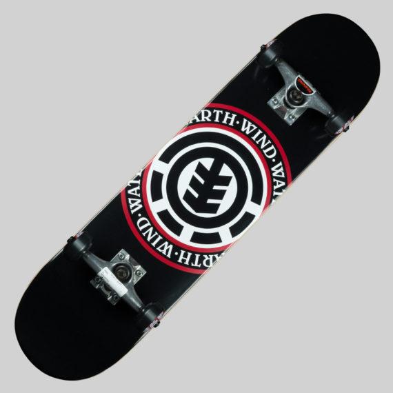 Element Skateboards Seal Complete Skateboard Black 1