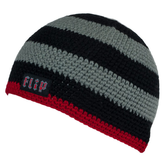 Flip Skateboards Beanie Knit Skull Cap Grey 1