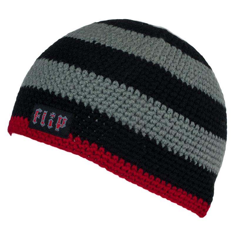 eee471bbcaf Flip Skateboards Beanie Knit Skull Cap Grey