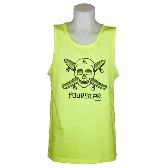 Fourstar Dressen Pirate Vest Neon Yellow
