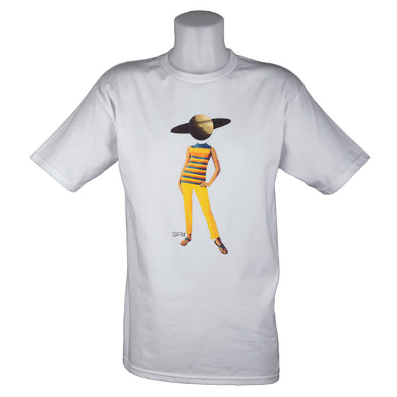 Girl Skateboards Space Girl T-Shirt White