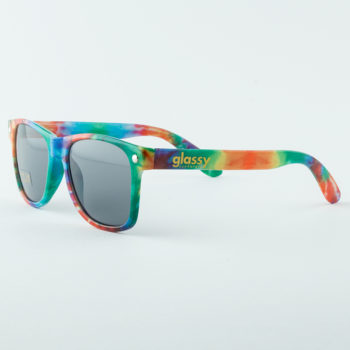 Glassy Sunhaters Sunglasses Leonard Tie Dye