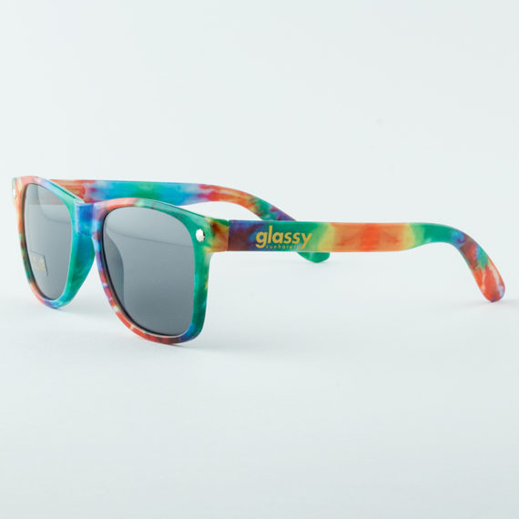 Glassy Sunhaters Sunglasses Leonard Tie Dye 1