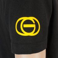 Gold Wheels T-Shirt Cali Party Black