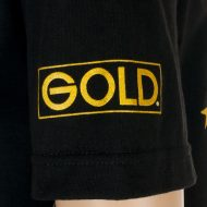 Gold Wheels T-Shirt Blasters Black