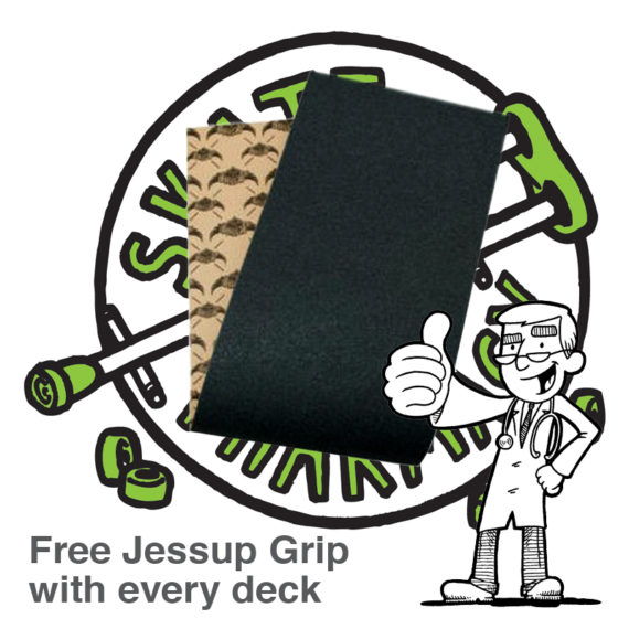 FREE GRIP WITH EVERY DECK BOUGHT AT Skate Pharm!