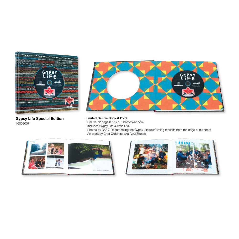 Cliche Skateboards Gypsy Life Deluxe DVD And Book