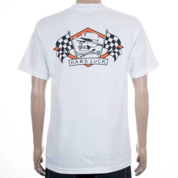 Hard Luck MFG Clothing Jason Jessee Swiss T-Shirt White 1