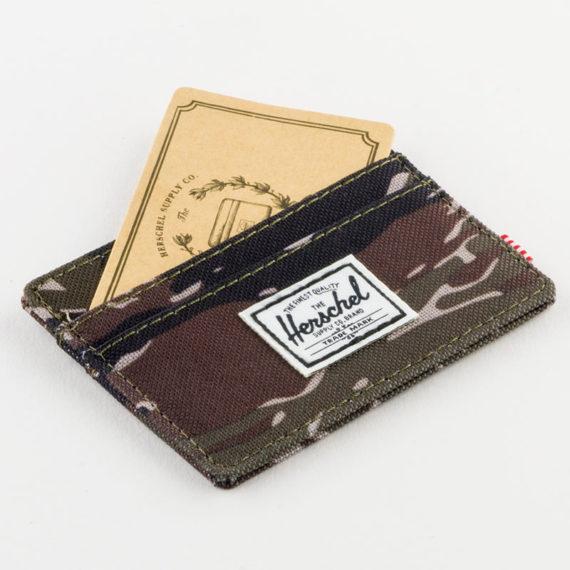 Herschel Backpacks Charlie Wallet Tiger Camo
