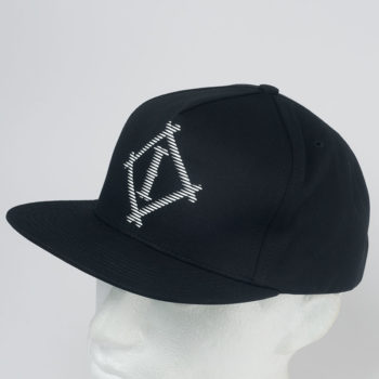 INDCSN Clothing Hat Athletic Snapback Black