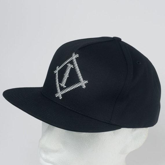 INDCSN Clothing Hat Athletic Snapback Black 1