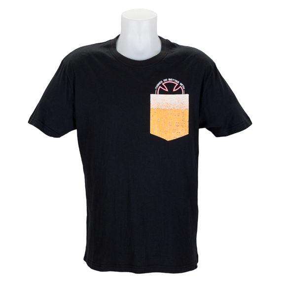 Independent Trucks Beer Pocket T-Shirt Black
