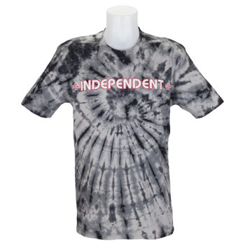 Independent Trucks Tie Dye Bar Cross T-Shirt Black